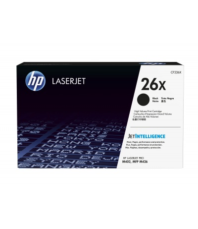 HP 26X 1 pc(s) Original Black
