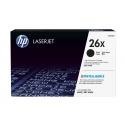 HP 26X Black LaserJet Toner Cartridge