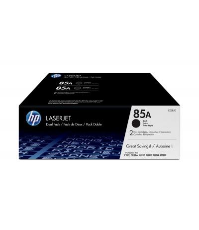 HP 85A 2 szt. Oryginalny Czarny