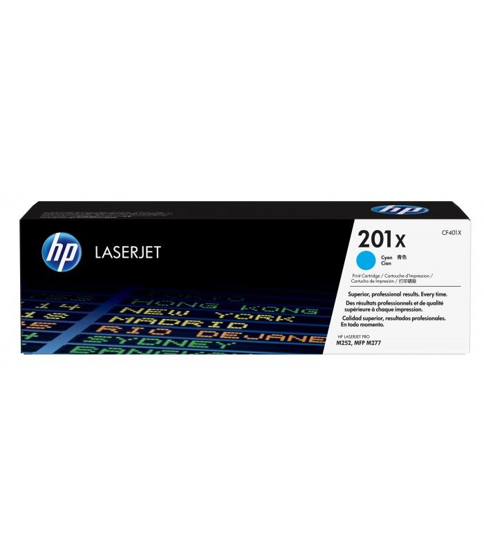 HP 201X 1 szt. Oryginalny Błękitny
