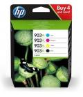 HP 903XL 4 szt. Oryginalny Wysoka (XL) wydajność Czarny, Błękitny, Purpurowy, Żółty