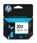 HP 302 1 szt. Oryginalny Standardowa wydajność Błękitny, Purpurowy, Żółty