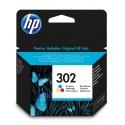 HP 302 Tri-color Ink Cartridge