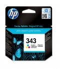 HP 343 1 szt. Oryginalny Standardowa wydajność Błękitny, Purpurowy, Żółty