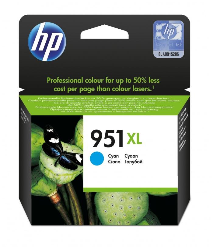 HP 951XL 1 szt. Oryginalny Wysoka (XL) wydajność Błękitny