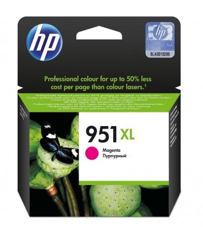HP 951XL 1 szt. Oryginalny Wysoka (XL) wydajność Purpurowy