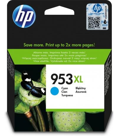 HP 953XL Oryginalny Wysoka (XL) wydajność Błękitny