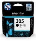 HP 305 Black Original Ink Cartridge 1 szt. Oryginalny Standardowa wydajność Czarny
