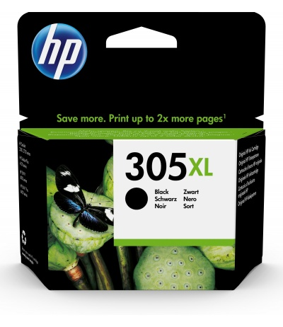 HP 305XL 1 szt. Oryginalny Wysoka (XL) wydajność Czarny