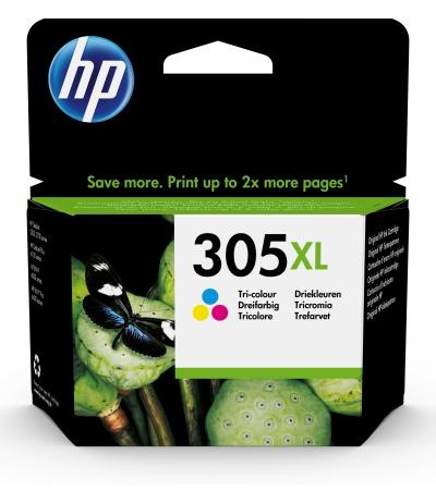 HP 305XL 1 szt. Oryginalny Wysoka (XL) wydajność Błękitny, Purpurowy, Żółty