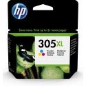 Tusz HP 305XL 1 szt. Oryginalny Wysoka (XL) wydajność Błękitny, Purpurowy, Żółty