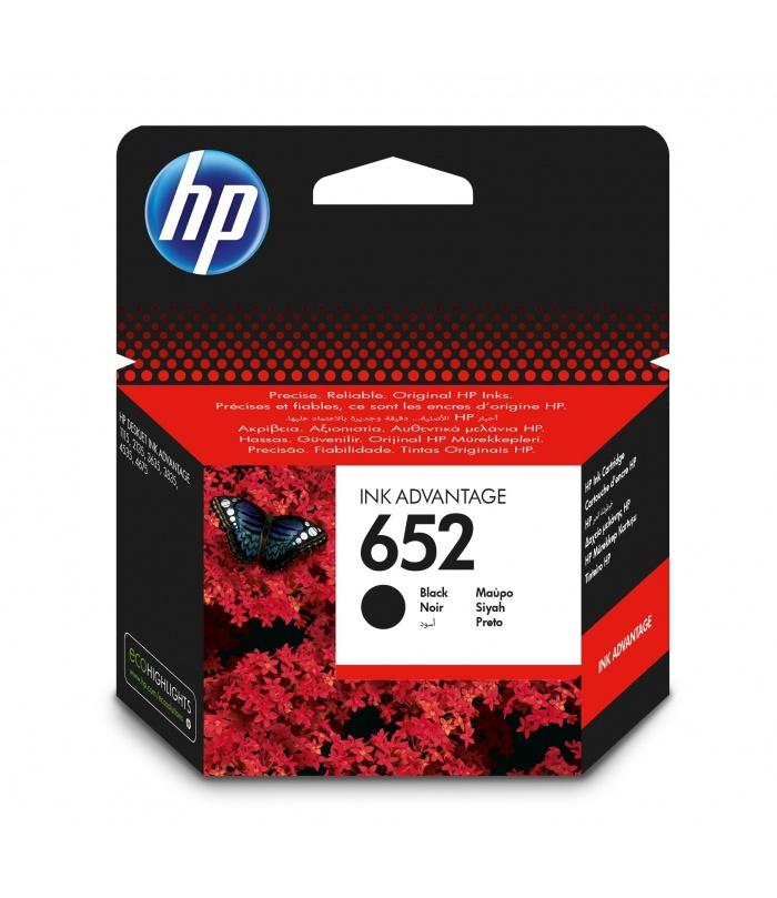 HP 652 Oryginalny Czarny