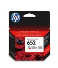HP 652 Oryginalny Czarny, Błękitny, Żółty