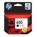 Tusz HP 650 1 szt. Oryginalny Czarny