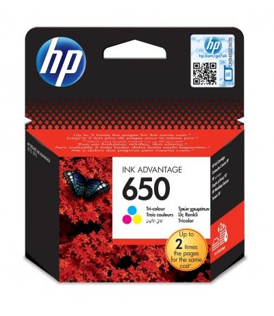 HP 650 1 szt. Oryginalny Błękitny, Purpurowy, Żółty