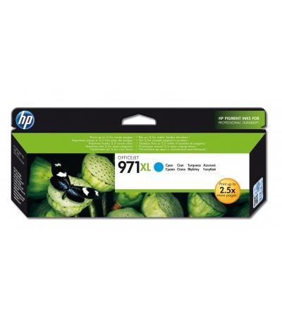 HP 971XL 1 szt. Oryginalny Wysoka (XL) wydajność Błękitny