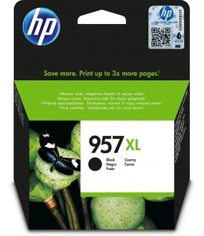 HP 957XL Oryginalny Extra (Super) Hight Yield Czarny