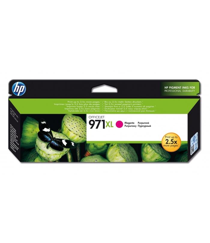 HP 971XL 1 szt. Oryginalny Wysoka (XL) wydajność Purpurowy