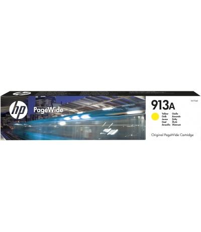 HP 913A Oryginalny Standardowa wydajność Żółty