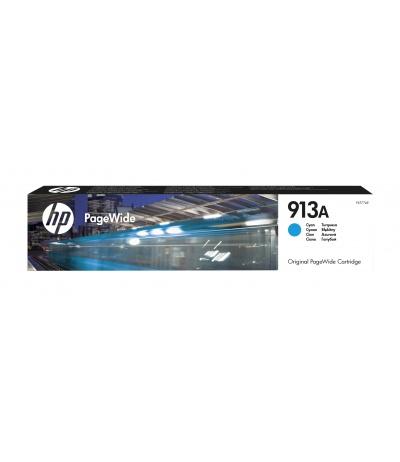 HP 913A 1 szt. Oryginalny Standardowa wydajność Błękitny