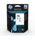 HP 78 1 szt. Oryginalny Standardowa wydajność Błękitny, Purpurowy, Żółty